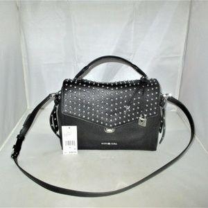 Michael Kors Bristol Top-Handle Leather Satchel